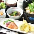 夜の御膳は1480円~1850円♪夜のお食事使いにもおすすめです。