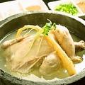 料理メニュー写真参鶏湯(サムゲタン)※要予約