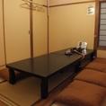 【~8名様対応席】人数に合わせて仕切りを変えられるお座敷個室