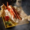 料理メニュー写真タラバ蟹のオーブン焼き