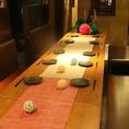 宴会利用に便利なソファーテーブル席。14~16名様まで可能!!