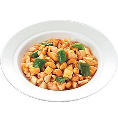鶏肉と(カシューナッツ炒め/野菜ピリ炒め)