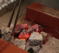 備長炭使用。ふっくらと焼き上げます。