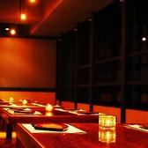 夜景の見える掘りごたつ席も人気です♪◆個室肉バル 池袋BASE 池袋駅前店