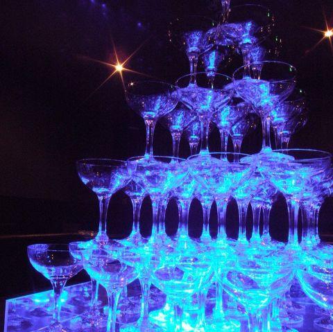 【結婚式2次会】3000円コース-シャンパンタワー付の大人気プラン-