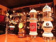 常時8種類の厳選樽生ビールをご用意!