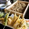 料理メニュー写真天板(天ぷら小+板そば)