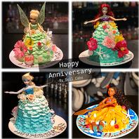 プリンセスドールケーキ♪
