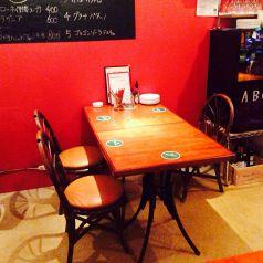 3人用テーブル