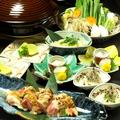 料理メニュー写真【コラーゲンたっぷり!】 丹波地鶏鍋コース