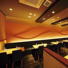 えきマチ内に位置するHERO海熊本駅店。総席数は46席ですので、会社宴会にもご対応できます。