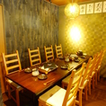 テーブル席は人数に応じてレイアウトを変更可能☆様々なご宴会に対応できます!お気軽にご連絡をどうぞ♪