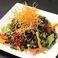 料理メニュー写真海草チョレギサラダ(コリアンドレッシング)/大根とジャコのサラダ(こがし醤油ドレッシング)