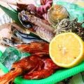 料理メニュー写真海鮮焼きセット