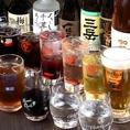ご宴会に欠かせない飲み放題メニューが種類豊富!カクテル、サワーはもちろん、焼酎や日本酒など充実した内容となっております。席のみ予約や当日ご来店のお客様もご注文OK!さらに、今ならクーポンご利用でお得な2時間飲み放題もやっております。