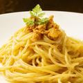 料理メニュー写真ウニの濃厚クリームパスタ