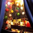 完全個室もご用意しております☆モニターも完備!女子会やお誕生日パーティーでのご利用はもちろん、ご宴会にもご利用ください☆