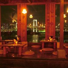 モンスーンカフェ Monsoon Cafe アクアシティお台場の雰囲気1