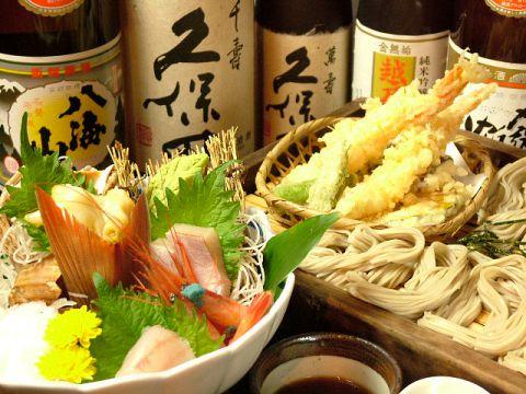 新潟の味「小千谷そば」と酒肴が自慢の一軒。新潟駅から徒歩1分、深夜2時まで営業!