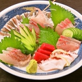 料理メニュー写真お刺身6種盛り合わせ(2~3人前)