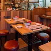 2名様用テーブル☆美味しい料理とお酒で、盛り上がっちゃおう!