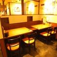 【町田】簡単に席替えできるテーブル席