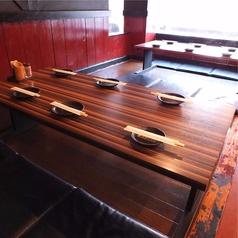 6名様掛け×2卓◇ゆったり寛げるお座敷テーブルをご用意♪各種ご宴会や飲み会に是非♪