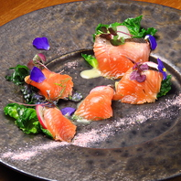 コース料理内容は季節で異なるものを提供致します。