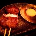 料理メニュー写真すき焼き串