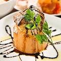 料理メニュー写真人気NO.2!!フォアグラと大根のステーキ
