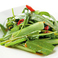 料理メニュー写真空芯菜と季節青菜の豆味噌炒め