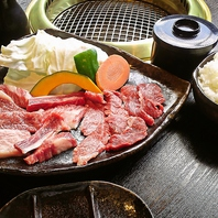 松阪牛焼肉定食3250円(税抜)