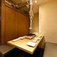 様々なシチュエーションに対応可能な雰囲気自慢の個室空間。すすきのでの女子会や誕生日会、歓送迎会など各種宴会に最適な個室空間となっております。事前予約で特製デザートプレートをご用意致します。