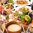 旬の素材を使用した季節のご宴会コース