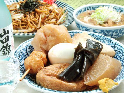 B級グルメがヅラリ…安心の味で常連様も多い人気の食堂です!是非ご来店ください。