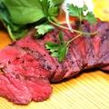 料理メニュー写真むなかた牛ロースの炭火焼