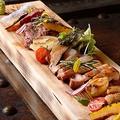 料理メニュー写真本日のお肉3種盛り合わせ