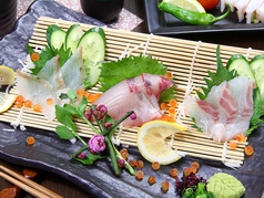 鮮魚の刺身 3点盛(小) (大)