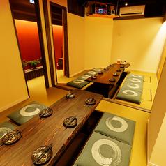 隠れ家個室居酒屋 琥珀 こはく 八重洲店の雰囲気1