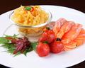 料理メニュー写真クラゲとサーモンの盛合せ/広東式冷菜盛合せ※2人前~