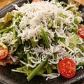 料理メニュー写真ジャコネギサラダ