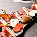 料理メニュー写真本日のお肉5種盛合せ