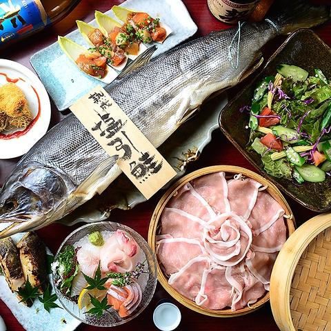 栄駅スグ!翌朝7時迄営業♪市場直送鮮魚と契約農家の野菜が美味しい産直居酒屋♪