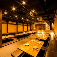 飯田橋でのご宴会に♪半個室や大人数の団体個室多数!