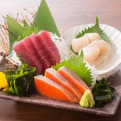 鮮魚三点盛り