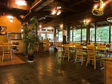 大王わさび農場レストランの雰囲気1