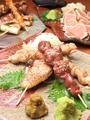 料理メニュー写真【1位!】串焼き盛り合わせ10本+とり刺
