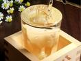 【新潟自慢の地酒】どんな飲み物にも合う、新潟自慢の地酒をご用意しております