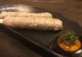 料理メニュー写真チーズつくね串(2本)/軟骨つくね串(2本)