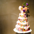 専属パティシエの作るデザートはどれも美しいものばかりです。